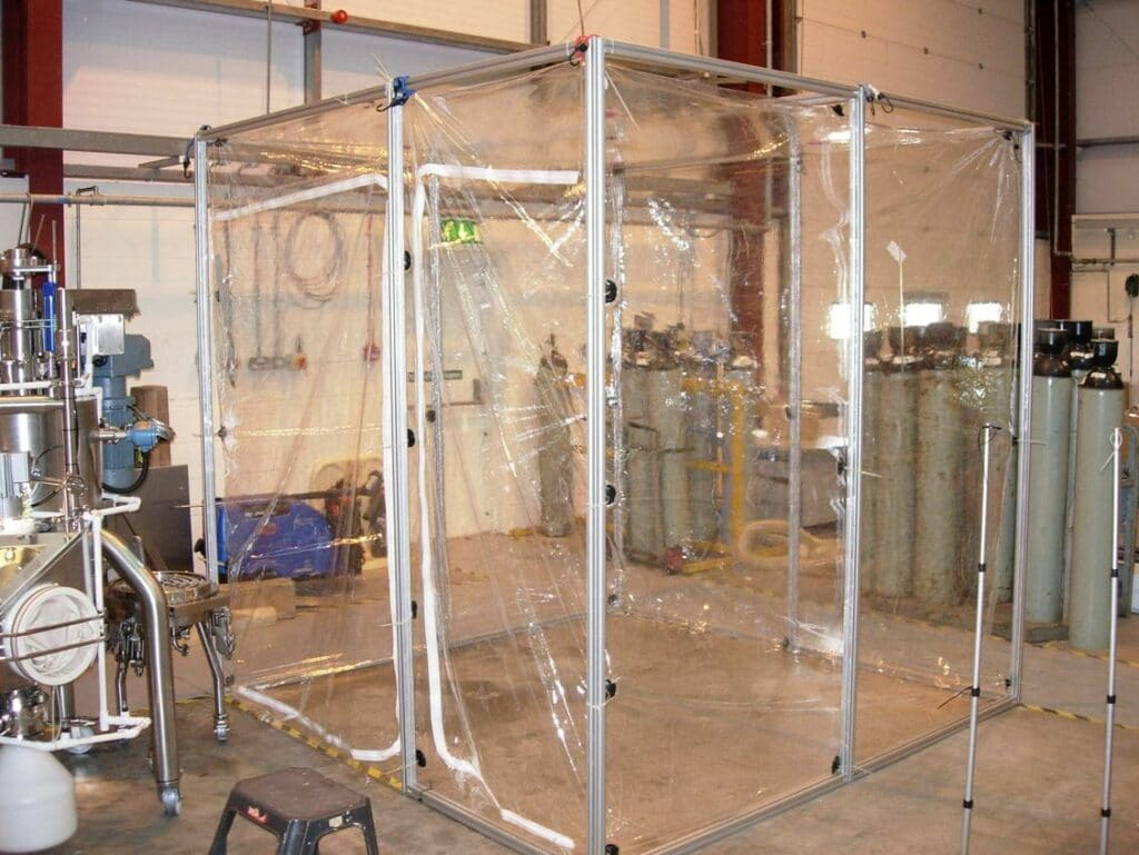 Flexible Clean Room Containment