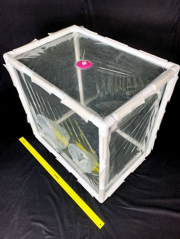 PVC Frame Isolator / Anti-Static Polyurethane (Yard Stick added for Scale)